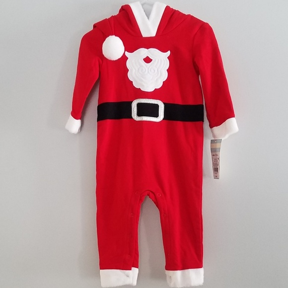 0887c8960 Cat & Jack One Pieces | New Cat Jack 69 Month Santa Christmas Outfit ...